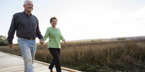 leisure walking for seniors