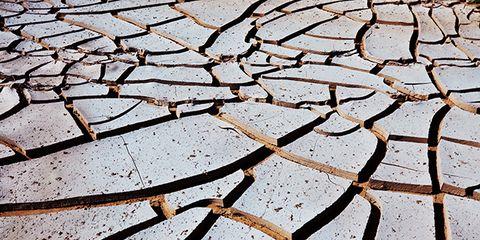 Drought, Shadow, Cobblestone,