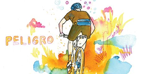 Chris McNally's ride journal