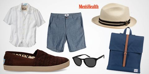 Eyewear, Vision care, Product, Blue, Brown, Hat, Textile, Denim, White, Pattern,