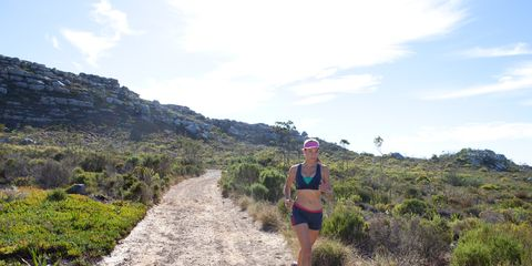 Plant community, Trail, Endurance sports, Running, Exercise, Adventure, Shrubland, Fell, Chaparral, Active shorts,