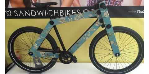 Sandwichbikes Van Gogh Almond Blossom bike