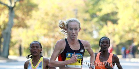 KIm Smith at BAA Half Marathon