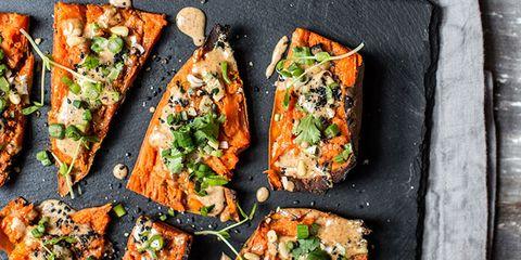 sweet potato skin recipe