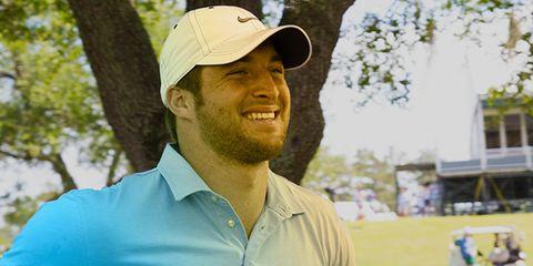 Tim Tebow golf shirt