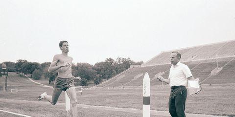 Bob Timmons and Jim Ryun