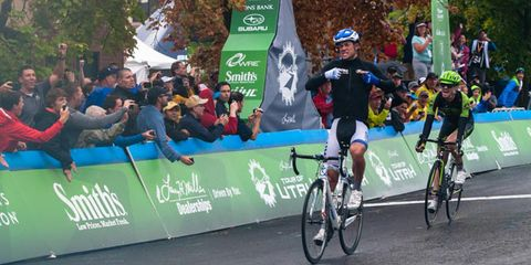 Kiel Reijnen Wins Tour of Utah Stage 1