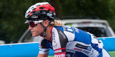 Allie Dragoo Wins Tour of Utah Stage 1