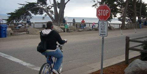 What Happens When Bicyclists Obey The Law?