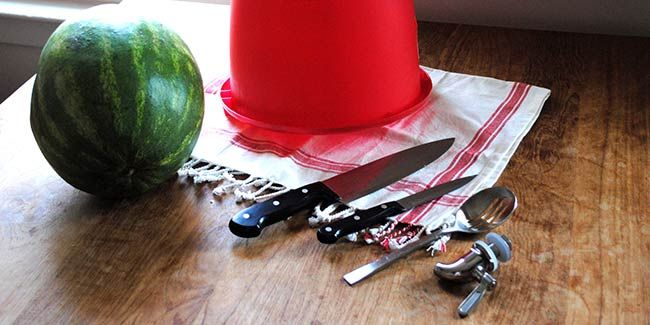 You Won't Believe How Easy It Is to Turn a Watermelon into a Keg