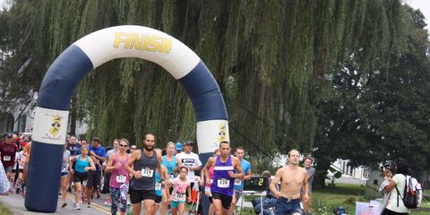 Footwear, People, Recreation, Endurance sports, Sportswear, Community, Running, Athlete, Athletic shoe, Competition event,