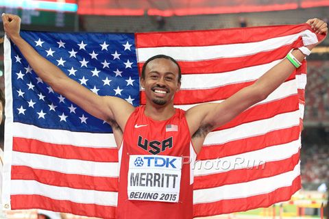Hurdler Merritt Gets Kidney Transplant Four Days After Winning World Champs Bronze