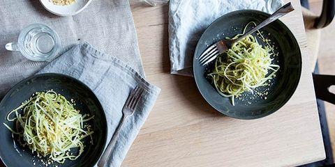 broccoli stem pasta