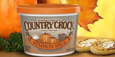 country crock pumpkin spice