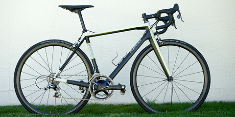 The Carbon Road is the first road bike sold by Steve Domahidy's new company