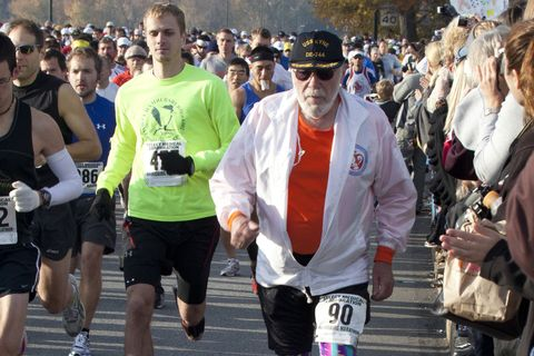 Researchers Study 94-Year-Old with 627 Marathon Finishes