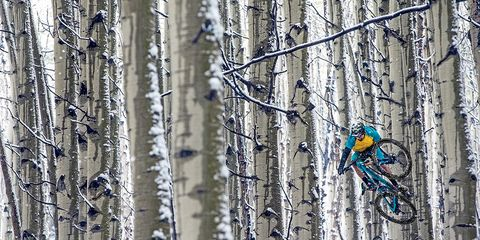 """In Colorado's Elk Mountains, """"My feet were frozen, but I was determined to keep shooting until I was out of battery,"""" Schusler says."""