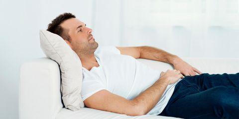 Finger, Comfort, Shoulder, Human leg, Textile, Facial hair, Sitting, Joint, Elbow, Beard,