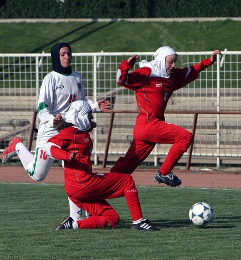 This Iranian Soccer Player's Husband Refused to Let Her Travel to a Tournament