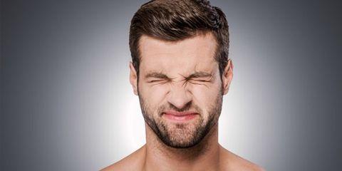 Ear, Facial hair, Lip, Cheek, Hairstyle, Skin, Chin, Forehead, Shoulder, Eyebrow,