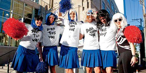 Blue, Leg, Textile, Style, Shorts, Uniform, Electric blue, Street fashion, Team, Fashion,