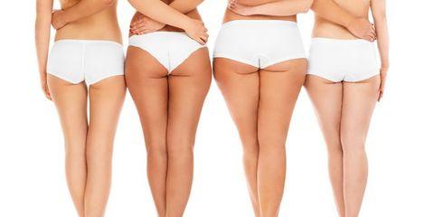 Brown, Skin, Human leg, Joint, White, Undergarment, Thigh, Trunk, Swimsuit bottom, Beauty,