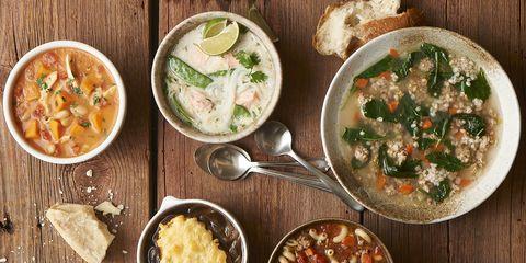 Food, Cuisine, Meal, Dish, Ingredient, Bowl, Recipe, Tableware, Spoon, Soup,