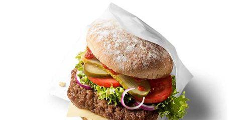 mcdonald's organic burger