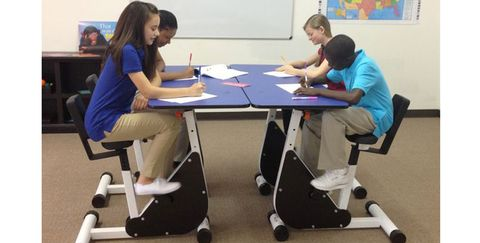 Move Over Standing Desks: Kids Learn Better with Pedal Desks