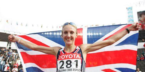 Paula Radcliffe at the 2005 world championships