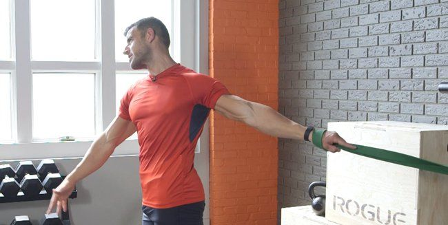 Resistance Band Stretch