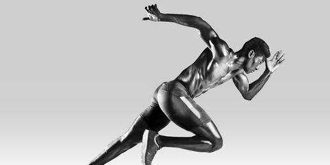 Human leg, Joint, Knee, Athletic dance move, Thigh, Muscle, Waist, Calf, Dancer, Monochrome,