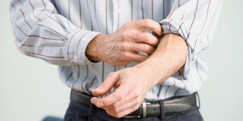 Arm, Finger, Sleeve, Collar, Wrist, Hand, Joint, Standing, Elbow, Waist,