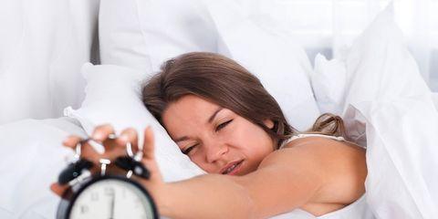 Comfort, Bedding, Linens, Elbow, Bed sheet, Wrist, Clock, Eyelash, Bed, Alarm clock,