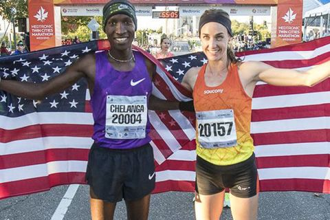 Molly Huddle Sets Course Record at U.S. 10-Mile Championship