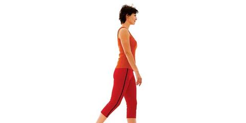 what happens to your body during walking