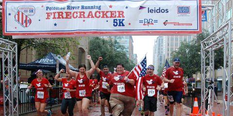 Sports uniform, Jersey, Endurance sports, Red, Sportswear, Active shorts, Athletic shoe, Team, Athlete, Racing,
