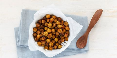 roasted chick peas for energy