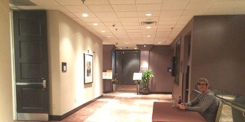 Lighting, Floor, Flooring, Interior design, Door, Ceiling, Flowerpot, Fixture, Home door, Houseplant,