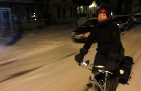 How to Bike Commute Through Winter