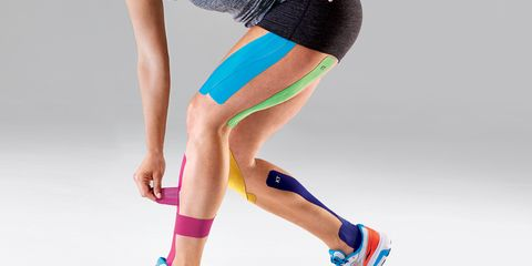Blue, Human leg, Joint, Standing, Sportswear, Elbow, Sock, Knee, Calf, Electric blue,