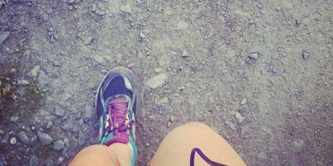 Human, Shoe, People in nature, Grey, Electric blue, Lavender, Walking shoe, Foot, Sneakers, Outdoor shoe,