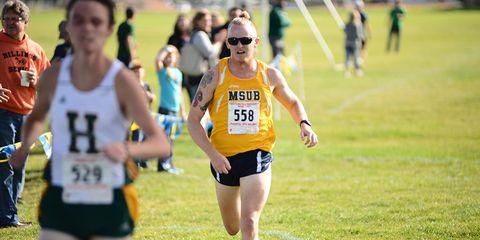 Endurance sports, Quadrathlon, Sports uniform, Sleeveless shirt, Recreation, Running, Exercise, Athlete, Long-distance running, Outdoor recreation,