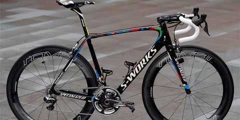 Peter Sagan's bike will stand out in the peloton next season.