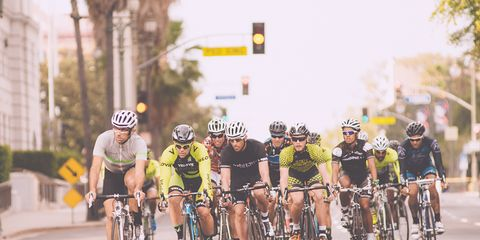 Would you risk a yellow light for a KOM?