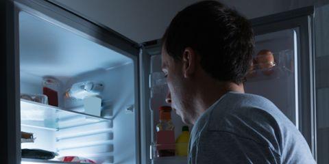 Ear, Shoulder, Elbow, Major appliance, Freezer, Refrigerator, Kitchen appliance, Home appliance, Gas, Service,