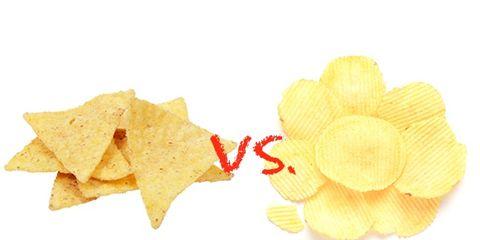 tortilla chips vs. potato chips