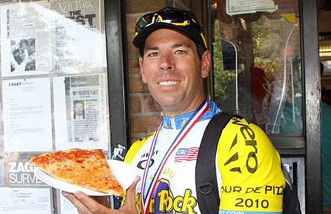 This Cyclist Lost 24 Pounds Eating 6 Slices of Pizza a Day