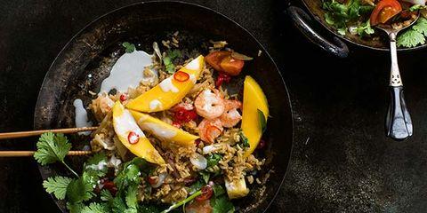 tropical shrimp fried rice