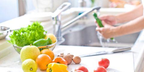 Food, Produce, Ingredient, Fruit, Vegetable, Dishware, Natural foods, Tableware, Leaf vegetable, Food group,